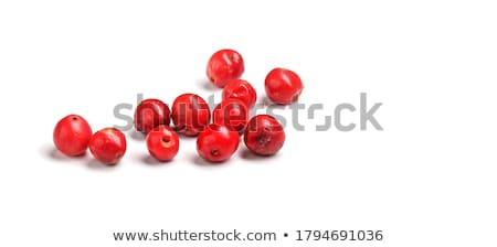 Piros borsszem aszalt asztal háttér főzés Stock fotó © racoolstudio