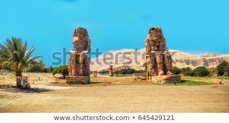 colossi of memnon in Luxor Egypt Stock photo © Mikko