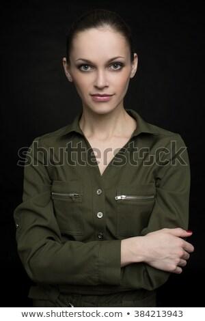 moda · mulher · baixo · chave · caucasiano · belo - foto stock © chesterf