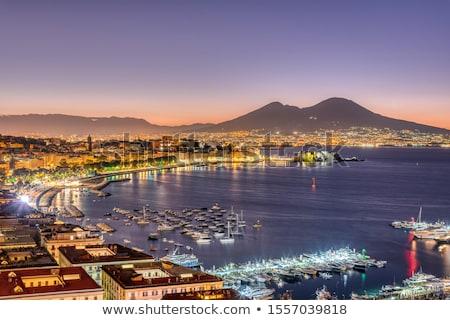 Nápoles · ver · belo · marina · Itália · água - foto stock © benkrut
