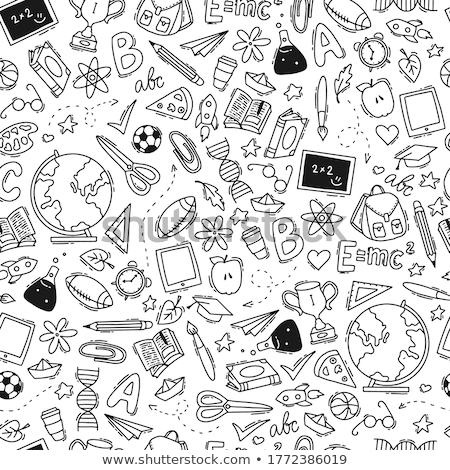 漫画 · かわいい · 手描き - ストックフォト © lucia_fox