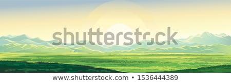 Stok fotoğraf: Sonbahar · dağ · plato · görmek · dağlar