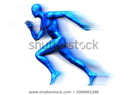 Medicina sport bianco isolato illustrazione 3d salute Foto d'archivio © ISerg