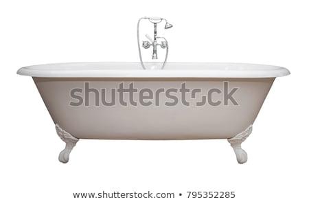 pé · banheira · imagem · feminino · espuma · mulher - foto stock © pressmaster