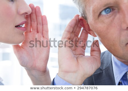 Businessmen whispering Stock photo © IS2
