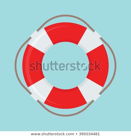 Спасательный круг синий пляж воды безопасности судно Сток-фото © m_pavlov