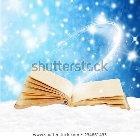 epocă · vechi · carte · deschisă · izolat - imagine de stoc © orensila