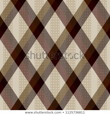 Dekoratif diyagonal vektör kahverengi Stok fotoğraf © sanjanovakovic