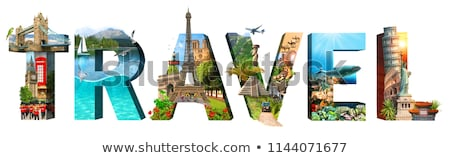 Travel and tourism background. Stock photo © dejanj01