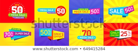 big sale discount offer summer sale web poster set stock photo © robuart