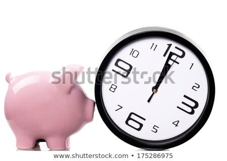 Сток-фото: белый · Банки · Смотреть · таблице · 3d · иллюстрации