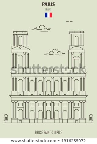 eglise saint sulpice in paris stock photo © boggy