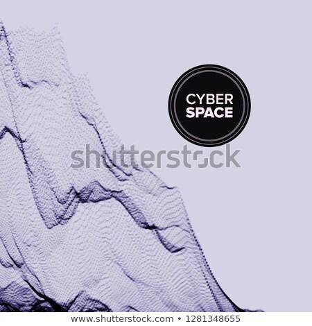 Teknoloji soyut vektör karmakarışık eğri hareket Stok fotoğraf © pikepicture