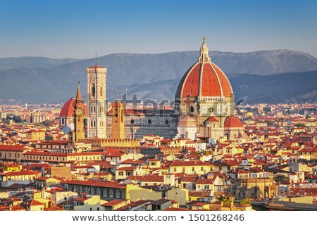 表示 フィレンツェ 大聖堂 イタリア サンタクロース 芸術 ストックフォト © boggy