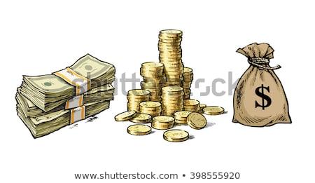 コイン · ドル記号 · フル · お金 - ストックフォト © robuart