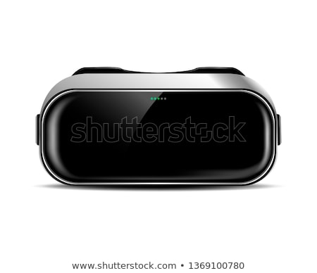 People in VR Glasses, Virtual Reality Web Page Stock photo © robuart