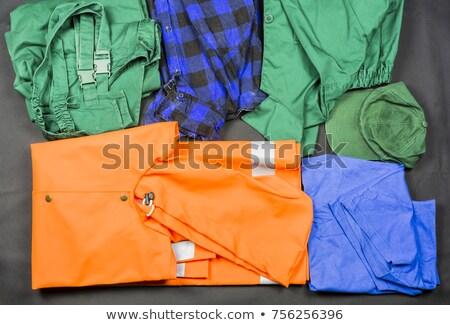 одежду оборудование шаблон набор инструменты признаков Сток-фото © netkov1