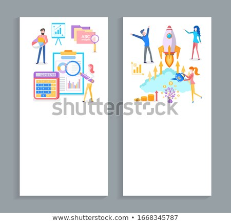 Tool to Grow Business, Analysis Techniques Set Stock photo © robuart