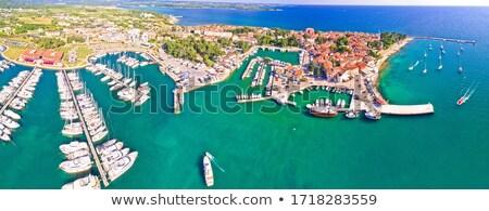 Histórico ciudad archipiélago playa Foto stock © xbrchx