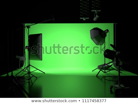 Photo Studio Professional Light Focusing Spotlight Stock photo © robuart