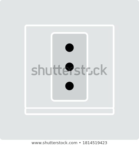 Italy Electrical Socket Icon Stock photo © angelp