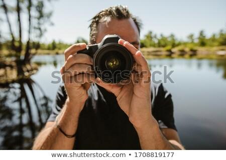 Photographe nature photo lac hobby Photo stock © robuart