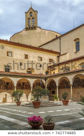 Stock photo: Chiostri dei Morti, Florence, Italy