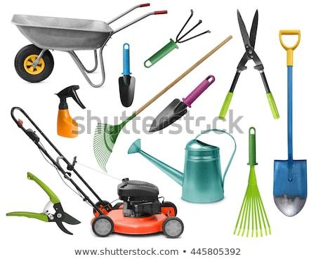 irrigation · métal · équipement · pot · vecteur - photo stock © robuart