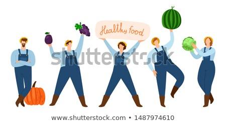 oogst · festival · achtergrond · najaar · tomaat · kaart - stockfoto © robuart