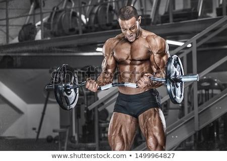 male body builder stock photo © stryjek