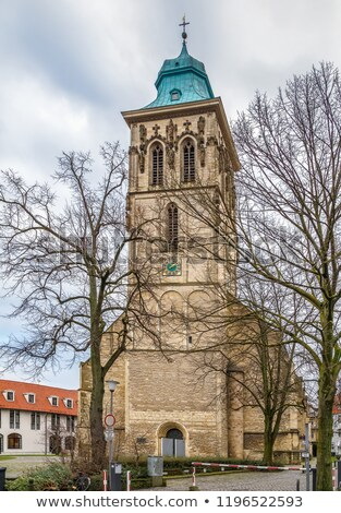 st. Martini church, Munster, Germany Stock photo © borisb17