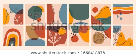 Collection of vector abstract contemporary geometric templates, covers, placards, brochures, banners Stock photo © ExpressVectors