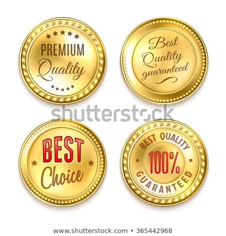 Kupfer Vektor Prämie Qualität Stempel Retro Stock foto © orson