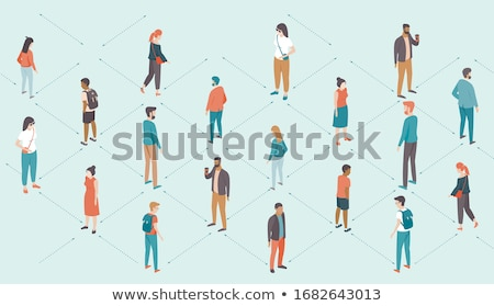 Social Distancing Anxiety Stock photo © Lightsource