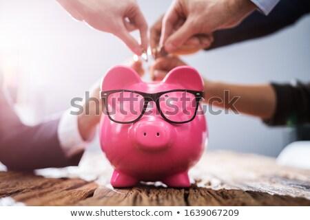 kaukasisch · zakenman · zakenvrouw - stockfoto © iofoto