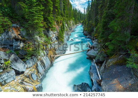 rio · Canadá · parque · britânico · neve · viajar - foto stock © broker