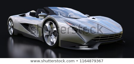 Silvery sport car Stock photo © Paha_L