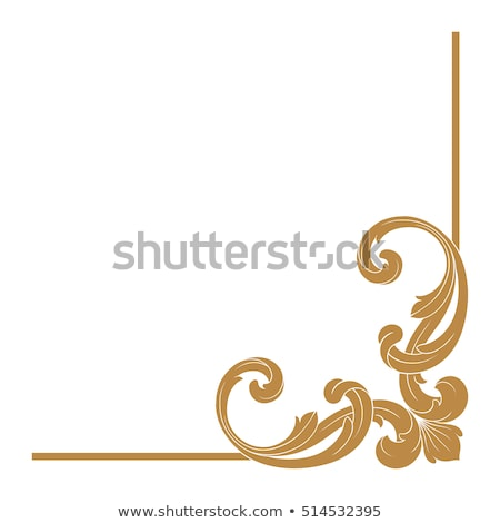 carved decorative elements  Stock photo © inxti