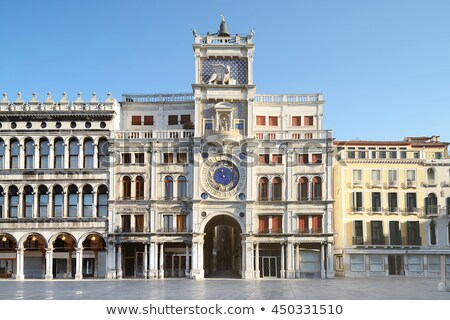 Architecture in San Marco Plaza in Venice Stock photo © vladacanon