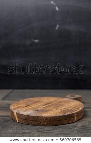 Closeup wooden cut texture Stock photo © IMaster