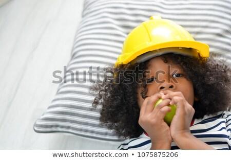 Carpenter sleeping on the job Stock photo © photography33
