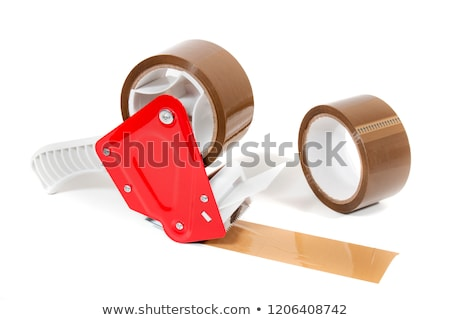 Colorful rolls of adhesive dispenser tape Stock photo © JohnKasawa