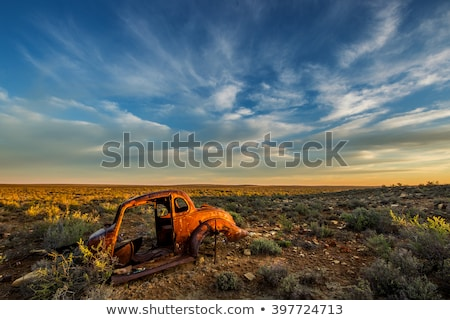 Stockfoto: Abandoned Vehicle Prairie