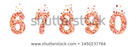 pink hearts confetti fly valentines day eps 8 stock photo © beholdereye