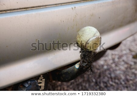 Stock photo: dust covered cutting wheel