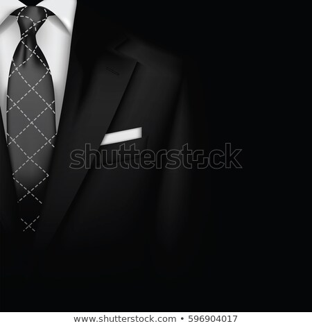 Man in a white suit, invites stock photo © pzaxe