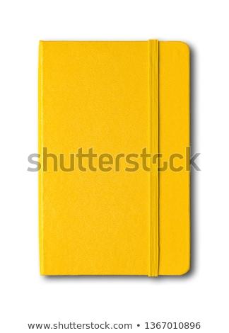 Yellow Notebook ストックフォト © Daboost
