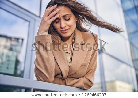 beautiful businesswoman in low spirits Stock photo © photography33