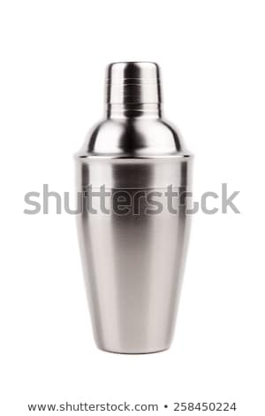 Steel shaker isolated on white Stock photo © ozaiachin