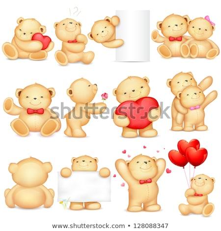 couple of passionate Teddy-bears Stock photo © Grazvydas